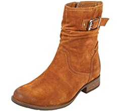 Earth Womens Beaufort Olive Boot