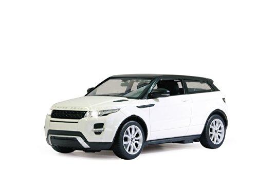 Jamara - Range Rover Evoque 1:14 Blanc- Maquette Voiture Télécommandée