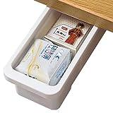 Cassetto Sotto Scrivania Bianca Cassetti Sotto Scrivania - 32x16.5x12cm - Cassetti Nascosti per Ufficio / Camera Da Letto / Scuola / Cucina