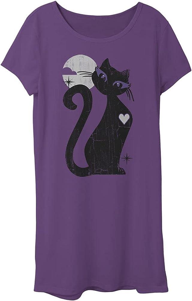 LOST GODS Girls Black Cat T-Shirt