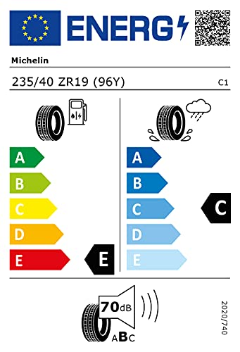 Michelin 81580 Neumático Psport Cup 2 235/40 R19 96Y para Turismo, Verano