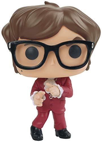 Pop! Austin Powers - Figura de Vinilo Austin Powers Red Suit Exclusive 2