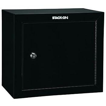 Stack-On GCB-500 Steel Pistol/Ammo Cabinet Black