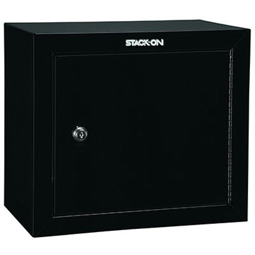 Stack-On GCB-500 Steel Pistol/Ammo Cabinet, Black