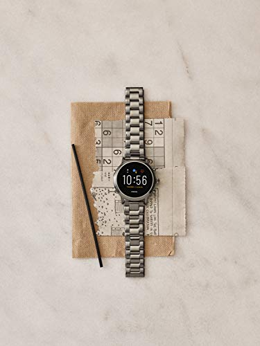 Fashion Shopping Fossil Gen 5 Carlyle Stainless Steel Touchscreen Smartwatch with Speaker, Heart Rate,