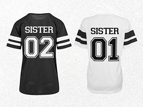 Schwestern Trikot Shirts Sisters Partnershirts