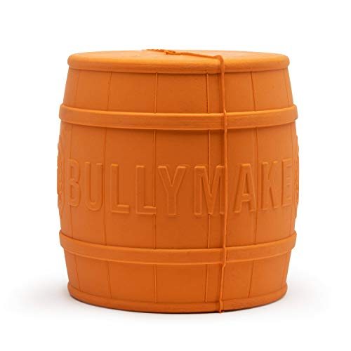 BULLYMAKE - The Keg - Rubber Chew Toy - Made in USA