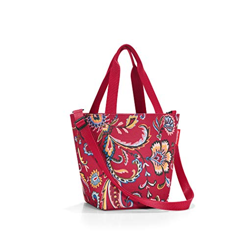 Reisenthel Shopper Xs Printed schoudertas, 32 cm, 4 L, Paisley Ruby