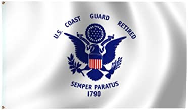 product image for Coast Guard Retired Flag 3X5 Foot Endura-Poly