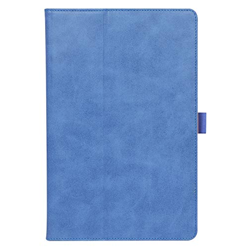 ISIN Premium PU Folio Protective Case Stand Cover for 11.5-inch Lenovo Tab P11 Pro and Xiaoxin Pad Pro TB-J706F TB-J706L(No for Tab P11 TB-J606, Tab P10 TB-X705) Android 10 Tablet PC(Blue)