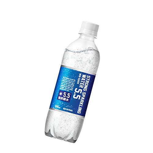 炭酸水 ストロング5.5 プレーン 強炭酸水 500ml ×24本