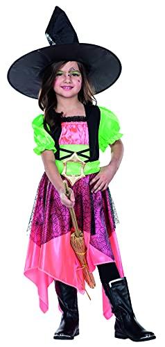 Disfraz infantil de bruja Gwen para niñas, Halloween, magia, carnaval.