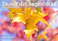 ZAUBER DES AUGENBLICKS Naturimpressionen (Wandkalender 2022 DIN A2 quer): Farbenfrohe Naturimpressionen erfreuen den Betrachter. (Monatskalender, 14 Seiten )