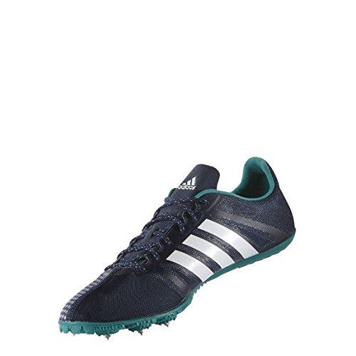 adidas Performance Adizero Ambition 3 Schuhe Leichtathletik Spike Schuhe Laufschuhe Blau AQ5592, Größenauswahl:40 2/3