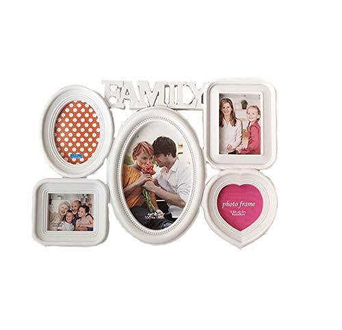 rainbowhh Fotorahmen Kreative Liebe Baby Fotorahmen Desktop Widget Geschenk 6 Zoll Familie