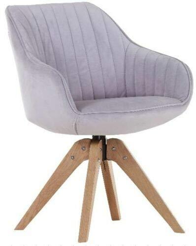 Gutmann Limited Sessel Chill Stoff Massivholz Natur Wohnzimmer Esszimmer (312/17 - Samtig Rosa)