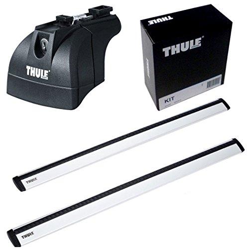 THULE スーリー ベースキャリアセット 753+969+3069 マツダ MPV ルーフレールなし H18/2- LY3P 753+969+3069