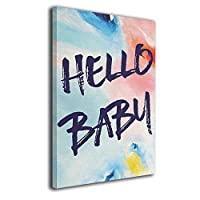 Skydoor J パネル ポスターフレーム Quote Hello Baby インテリア アートフレーム 額 モダン 壁掛けポスタ アート 壁アート 壁掛け絵画 装飾画 かべ飾り 30×20