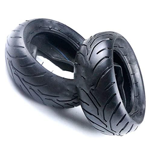 CXWHYPD Neumático de la bicicleta 110/50 / 6.5 90/65 / 6.5 Válvula curvada del tubo interno del neumático delantero y trasero Adecuado para 47cc 49cc Scooter de vehículo fuera de carretera Motocicleta