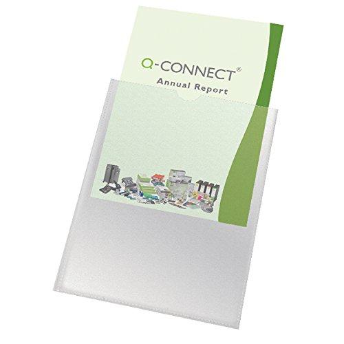 Q-Connect KF01947 - Portatarjeta A4 (100 unidades)