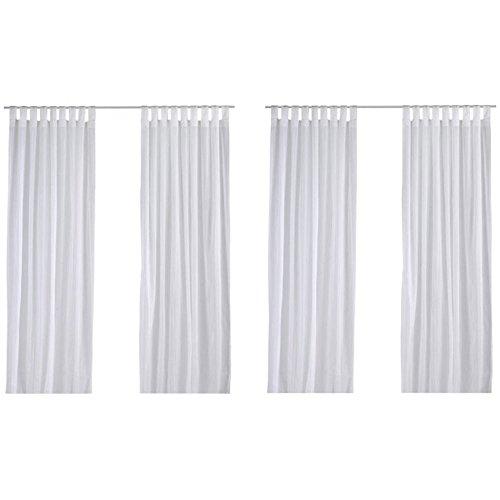 Ikea Matilda Durchsichtige Vorhänge weiß