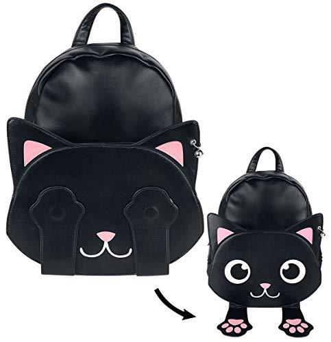 Banned Alternative Backpack of Tricks Frauen Rucksack schwarz/weiß