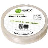 Zeck Mono Leader 50m - Vorfachschnur zum Wallerangeln, Monofile Schnur für Welsmontagen, Wallervorfach, Mono Vorfachmaterial, Durchmesser/Tragkraft:1.1mm / 64kg Tragkraft