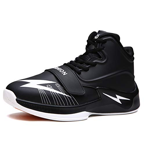 Männer Basketball Schuhe AtmungsAktive Outdoor-Athletik-Training Gepolfedert rutschfeste Knöchel Sport Stiefel männliche Sneakers