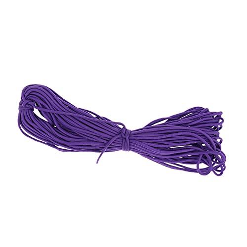 Cuerda Multiuso 100FT 550LB Cordón 7 Cuerda de la Cuerda de la Cuerda para Hacer la Pulsera de Supervivencia/Supervivencia para Acampar/al Aire Libre/en casa/artesanía Conveniente y Duradero
