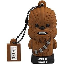 Star Wars Chiavetta USB 16 GB Chewbacca TLJ - Memoria Flash Drive 2.0 Originale Disney, Tribe FD030520