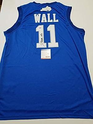 John Wall signed jersey PSA/DNA Kentucky Wildcats Autographed