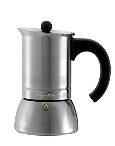 Lagostina Maker Stainless Steel Espresso Coffee Maker silber