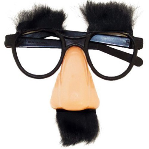 Groucho Fuzzy Nose and Glasses