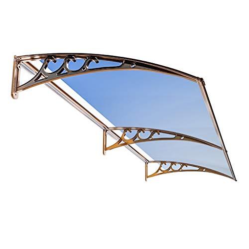 Lw Canopies overkapping van polycarbonaat, voor toegangsdeur, terrasdeur, polycarbonaat 60×240cm