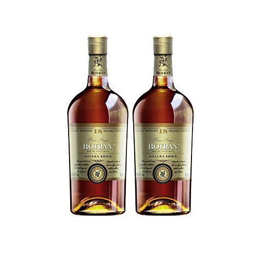 Ron Botran 18 de 70 cl - D.O. Guatemala - Bodegas Gonzalez Byass (Pack de 2 botellas)