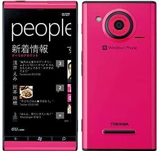 au Windows Phone IS12T マゼンタ/白ロム/ロックフリー