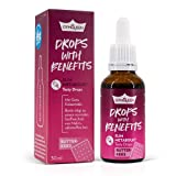 GymQueen Tasty Drops mit Vitamin B6 & Biotin 30ml Butterkeks, kalorienfreie, zuckerfreie und fettfreie Flavdrops, Flavour Drops für aktiven Stoffwechsel, Aromatropfen zum Süßen & Gotu-Kola-Extrakt
