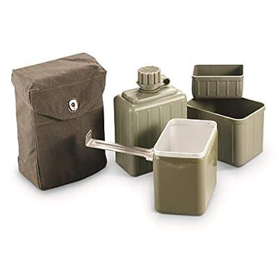 Surplus Serbian Military Mess Kit, Used
