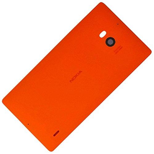 Nokia Lumia 930copribatteria originale luce arancione brillante della batteria posteriore posteriore cover posteriore cover housing