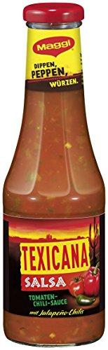 Maggi Texicana Salsa Tomaten - Chili - Sauce, 12er Pack (12 x 500 ml)