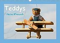 Teddys Meine Freunde (Wandkalender 2022 DIN A3 quer): Bezaubernde Teddybaeren fotografiert mit viel Liebe zum Detail (Monatskalender, 14 Seiten )