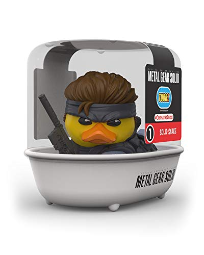 TUBBZ Metal Gear Solid Snake Collectible Rubber Duck Figurine – Official Metal Gear Solid Merchandise – Unique Limited Edition Collectors Vinyl Gift