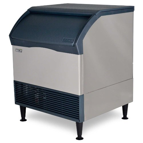 Scotsman CU3030MA-1 30-Inch Prodigy Plus Air-Cooled Cube Undercounter Ice Maker Machine with 110 lb. Storage Capacity, 313 lbs/Day, 115v, NSF