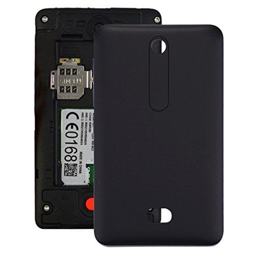 BAIJIAXIUSHANG-CELL PHONE ACCESSORIES Perfetto Accessori Telefono sostitutivo Compatibile con la Cover Posteriore della Batteria del Nokia Asha 501 (Colore : Nero)