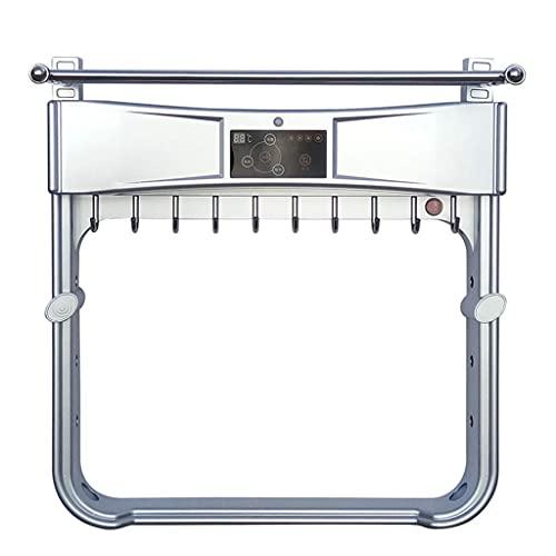 Mobiliario Para El Hogar Calentador De Toallas, Un Botón Abierto / 290W / Ciclo Estéreo De Múltiples Ángulos / Baño Cuarto De Baño Perforación Gratuita Para El Hogar Toallero Eléctrico Inteligente Est