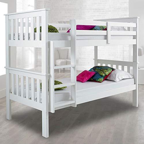 Happy Beds Atlantis White Bunk Bed