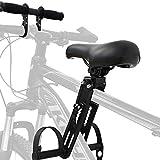Bomoya Seggiolino per Bici da Mountain Bike, Rimovibile, per Bambini di 2 – 5 Anni, Compatibile con Tutti Gli Adulti MTB (Sedile e Maniglia)