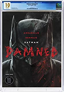 Batman Damned #1 - CERTIFIED CGC 10 GEM MINT - White Pages - Modern-Age Key