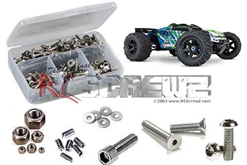 RCScrewZ Stainless Screw Kit Tra082 Compatible with Traxxas E-Revo 2.0 86086-4