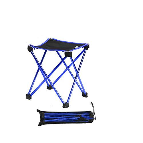 Pique-Nique ext/érieur, la p/êche OUTAD Chaise de Camping Pliable Portable ultral/éger Backpacking Chaises Pliante Bleu Couleur pour Le Camping